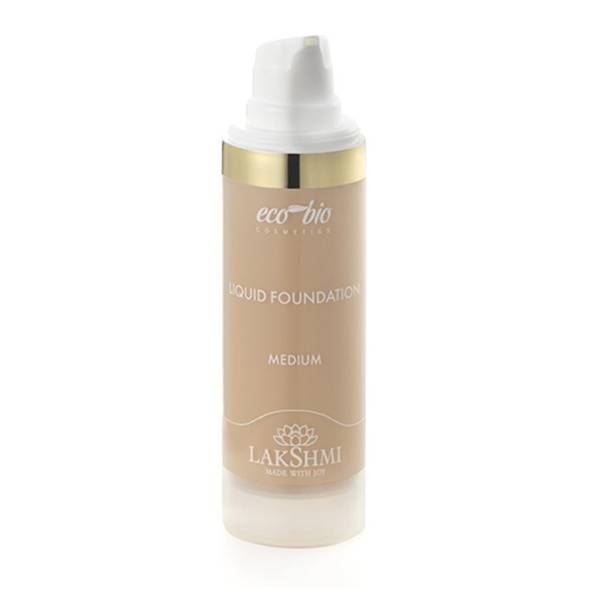 Liquid Foundation Medium ekologisk hudvård