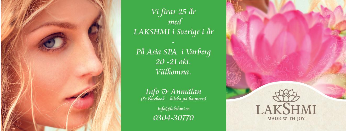 Lakshmi 25 år i Sverige